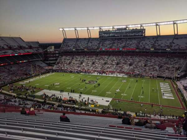 Williams-Brice Stadium, section: 507, row: 23, seat: 8