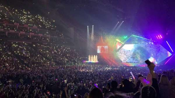 The O2 Arena, section: 110, row: M, seat: 288