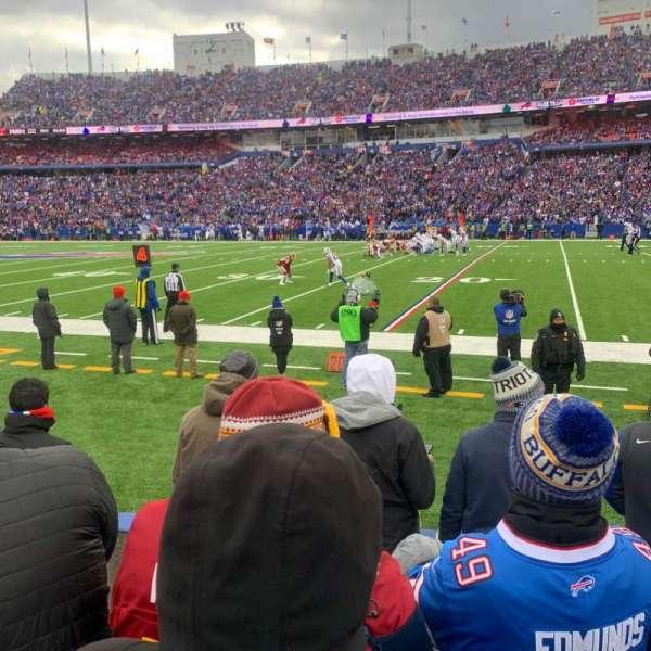 Highmark Stadium, section: 109, row: 5, seat: 9