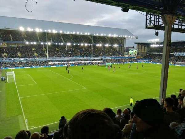 Goodison Park, section: UV1, row: H, seat: 32