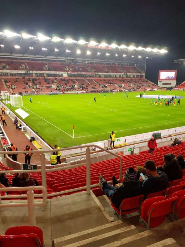 bet365 Stadium, section: 35, row: 18, seat: 753
