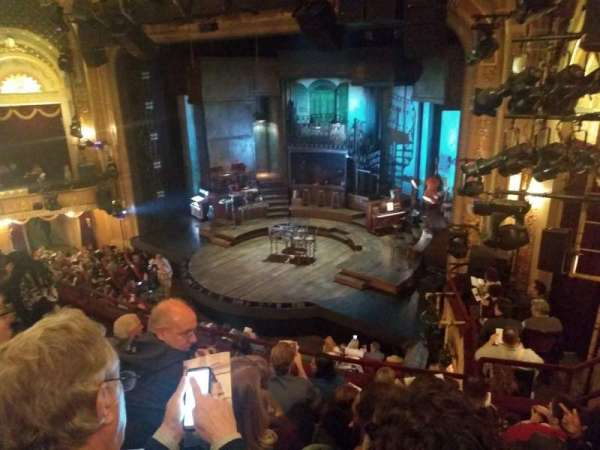 Walter Kerr Theatre, section: Mezzanine R, row: F, seat: 26