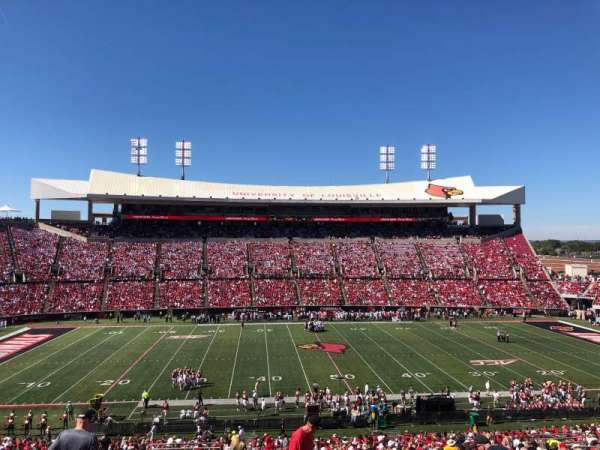 Cardinal Stadium, section: 207, row: DD, seat: 20