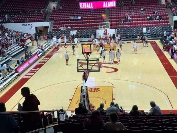 Coleman Coliseum, section: J, row: 28, seat: 21