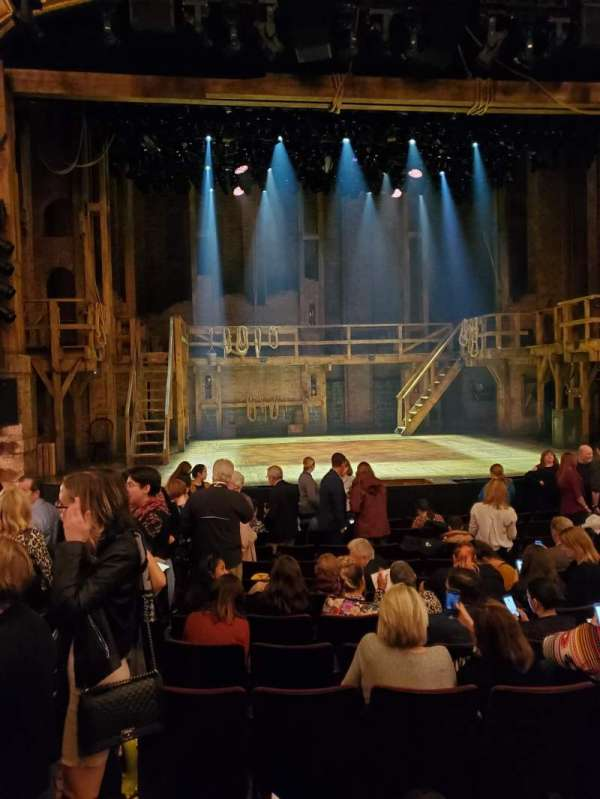 Richard Rodgers Theatre, section: Orchestra C, row: M, seat: 112-113