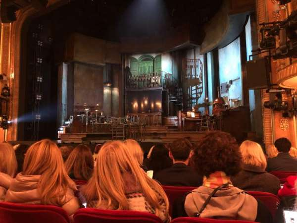 Walter Kerr Theatre, section: Orchestra R, row: L, seat: 10