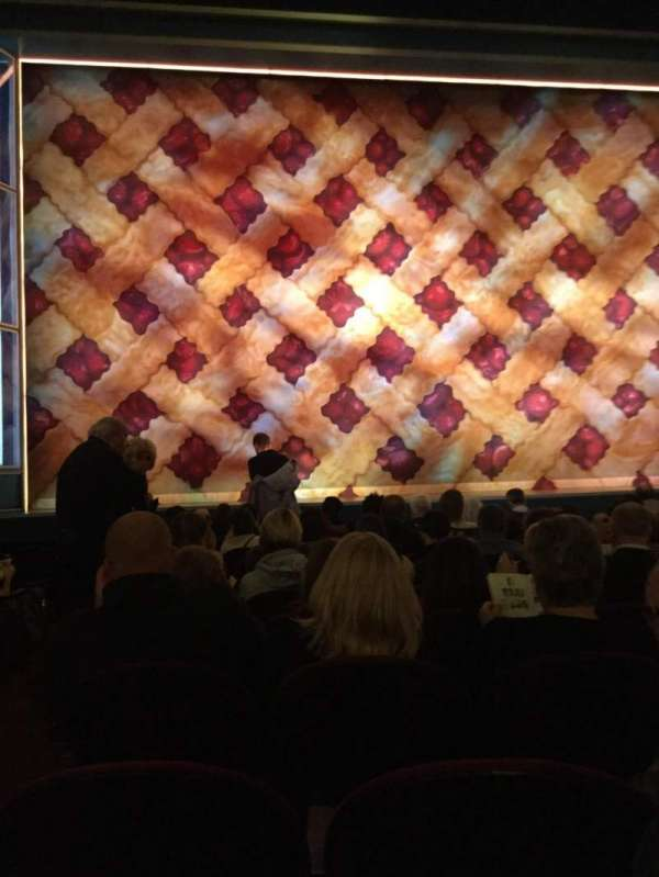 Brooks Atkinson Theatre, section: Orchestra C, row: J, seat: 101