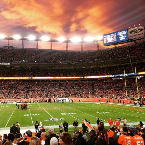 Empower Field at Mile High Stadium, section: 122, row: 14, seat: 3