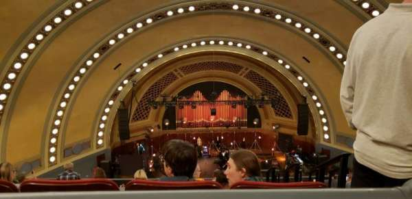 Hill Auditorium, section: 19, row: A, seat: 305