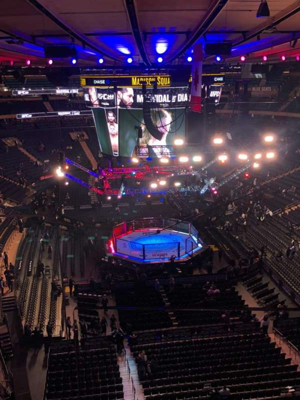 Madison Square Garden, section: 203