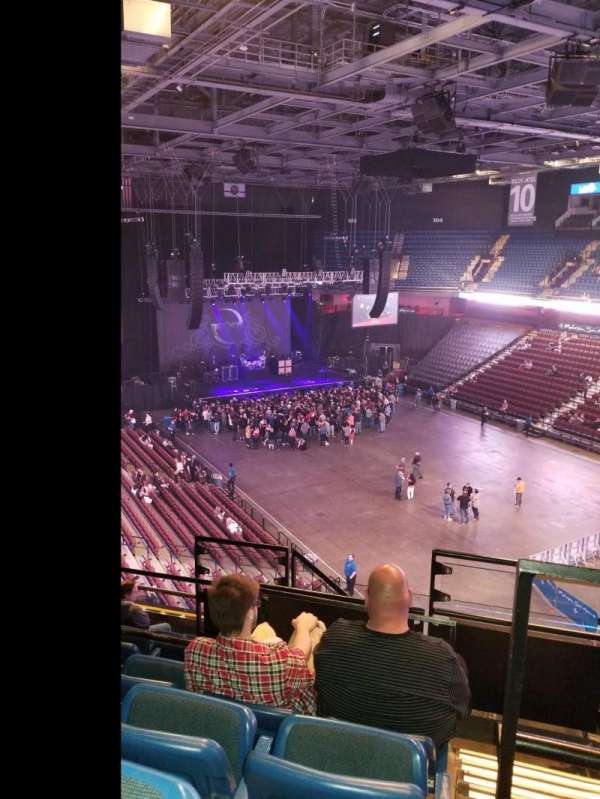 Mohegan Sun Arena, section: 115, row: J, seat: 10
