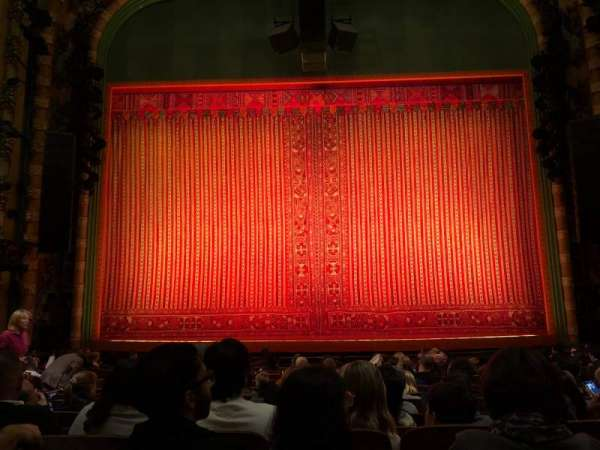 New Amsterdam Theatre, section: Orchestra C, row: N, seat: 108