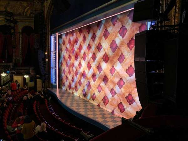 Brooks Atkinson Theatre, section: Right Box B, seat: 3