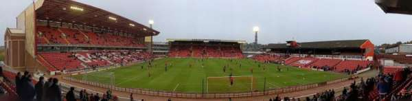 Oakwell Stadium, section: NS4, row: T, seat: 89