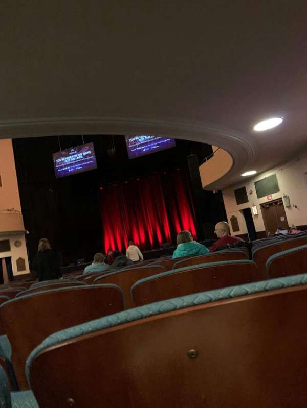 Chevalier Theatre, section: ORCH, row: X, seat: 10