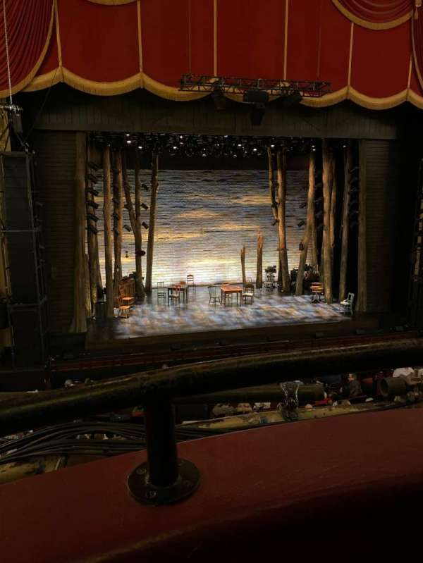Citizens Bank Opera House, section: Dress Circle LC, row: AA, seat: 5