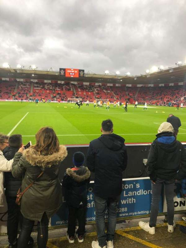 St Mary's Stadium, section: 44, row: C, seat: 1150