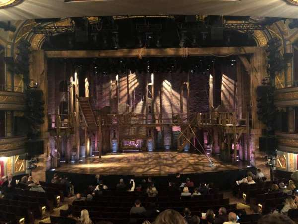 Richard Rodgers Theatre, section: Orchestra C, row: Q, seat: 107