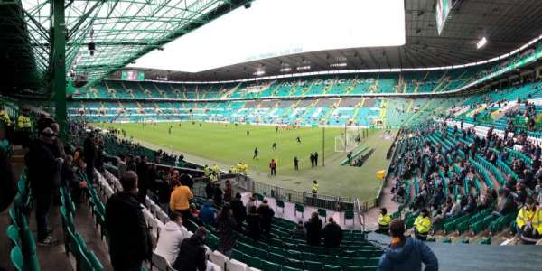 Celtic Park, section: 119, row: U, seat: 21