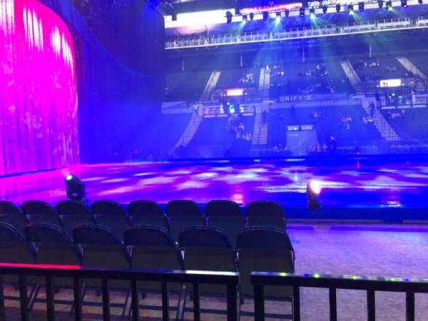 FlyDSA Arena, section: 104, row: B, seat: 1