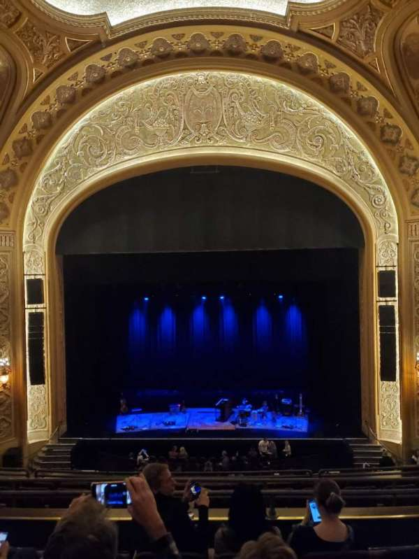 Paramount Theatre (Seattle), section: 13, row: E, seat: 9