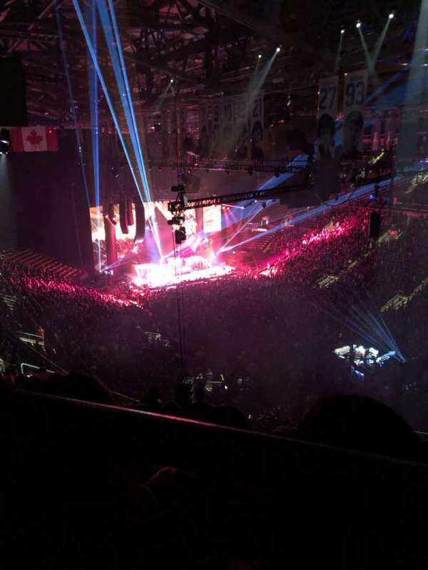 Scotiabank Arena, section: 306, row: 14, seat: 1