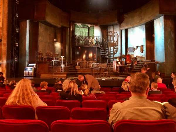 Walter Kerr Theatre, section: Orchestra C, row: M, seat: 105