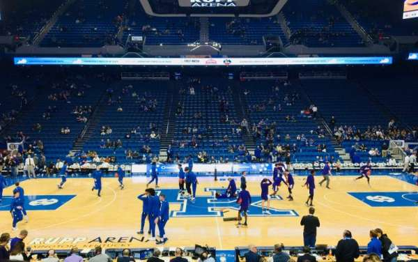 Rupp Arena, section: 14, row: G, seat: 9