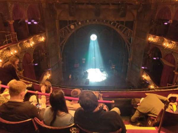 Palace Theatre (West End), section: Grand Circle, row: D, seat: 23
