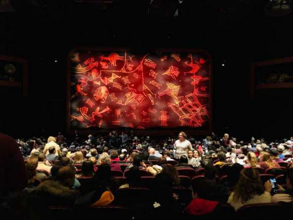 Minskoff Theatre, section: Orchestra C, row: X, seat: 116