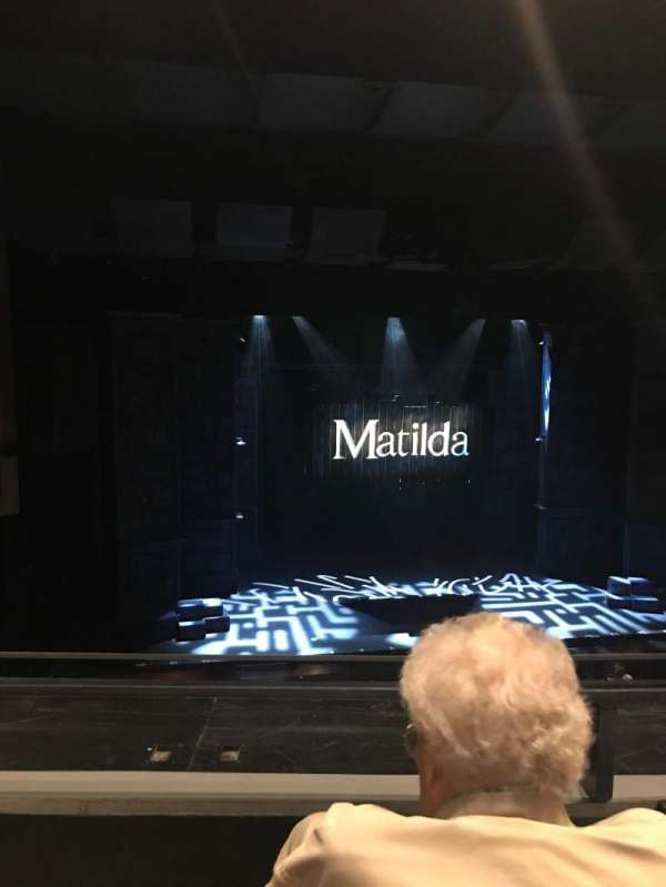 La Mirada Theatre for the Performing Arts, section: Balcony, row: BB, seat: 33