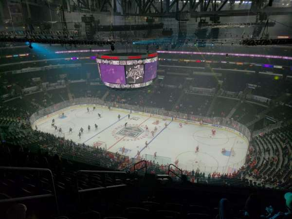 Staples Center, section: 332, row: 12, seat: 19