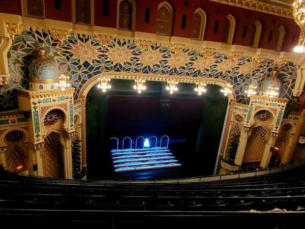Mainstage at the New York City Center, section: BALC, row: H, seat: 113