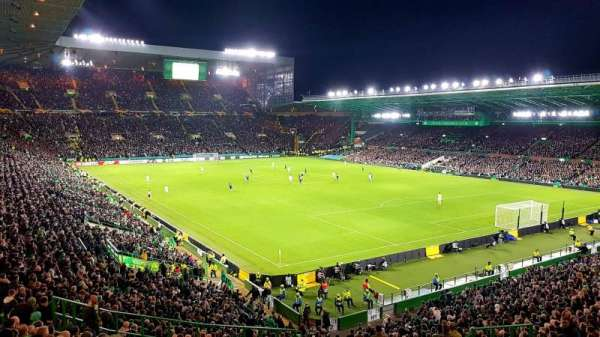 Celtic Park, section: 143, row: MM, seat: 30