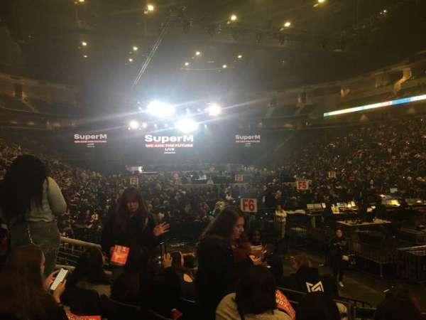 Infinite Energy Arena, section: 122, row: J, seat: 17