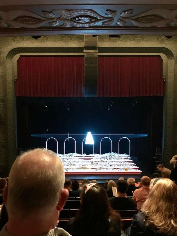 Mainstage at the New York City Center, section: Mezz, row: E, seat: 113