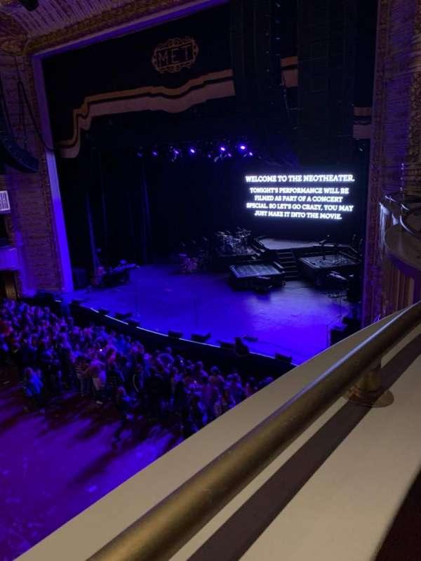 The Met Philadelphia, section: Loge 1, row: A, seat: 3