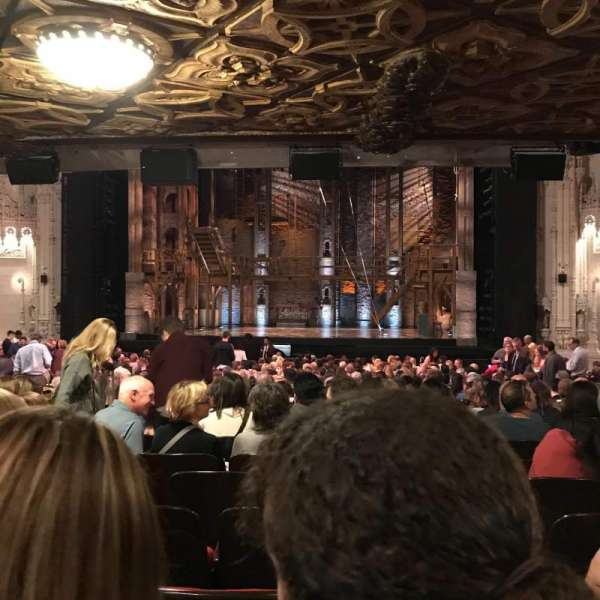 Orpheum Theatre (San Francisco), section: Orchestra RC, row: BB, seat: 120