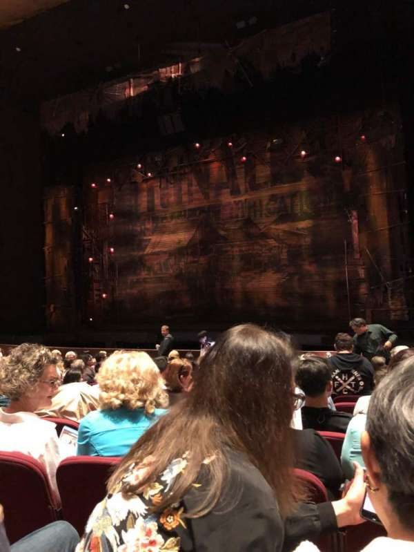 San Jose Center For The Performing Arts, section: Orchestra, row: 12, seat: 33