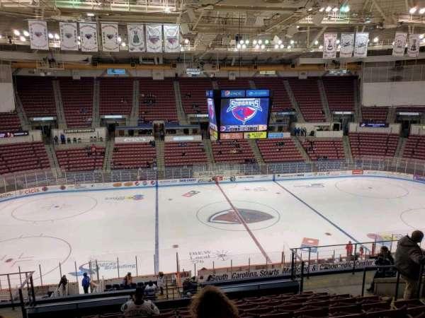 North Charleston Coliseum, section: 242, row: M, seat: 8
