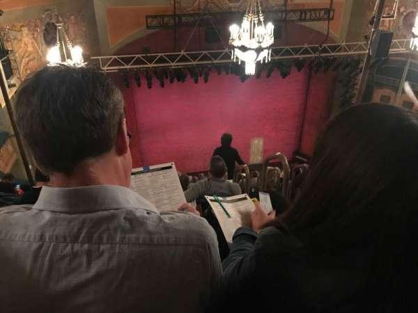 Shubert Theatre, section: Balcony L, row: K, seat: 1