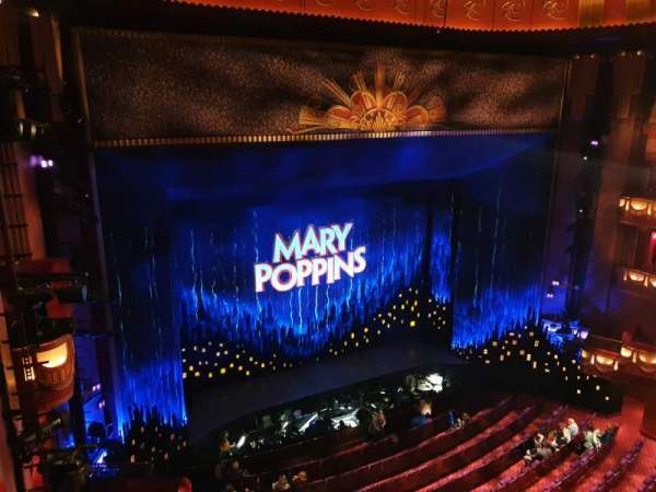 Prince Edward Theatre, section: Grand Circle, row: A, seat: 35