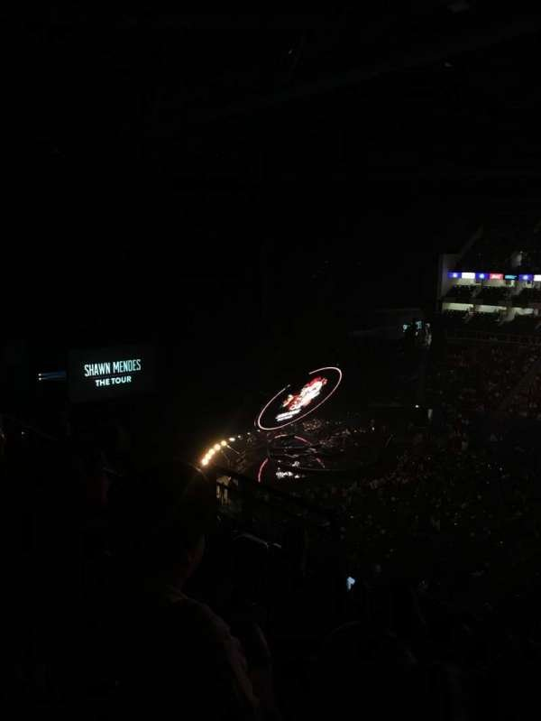 The O2 Arena, section: 404, row: F, seat: 546