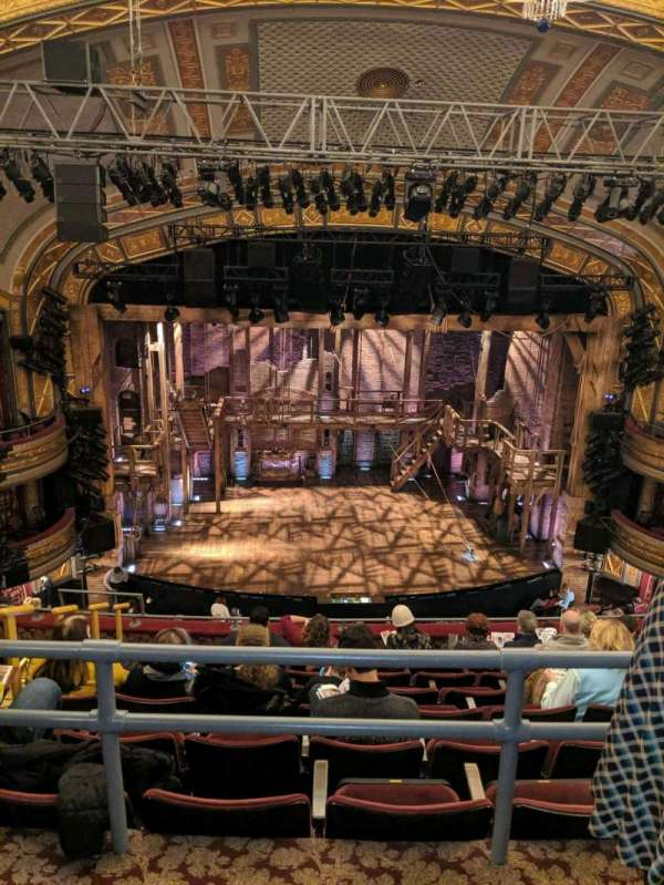 Richard Rodgers Theatre, section: Rear Mezzanine C, row: G, seat: 112