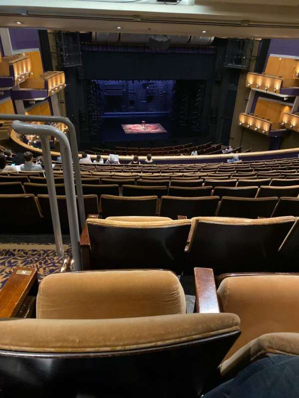 Ahmanson Theatre, section: Mezzanine, row: P, seat: 32