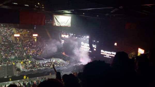 EagleBank Arena, section: 102, row: Z, seat: 15