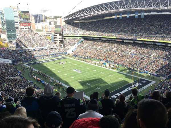 CenturyLink Field, section: 328, row: BB, seat: 15