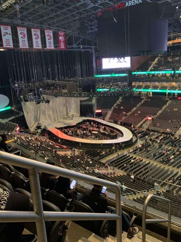 State Farm Arena, section: 219, row: E, seat: 20