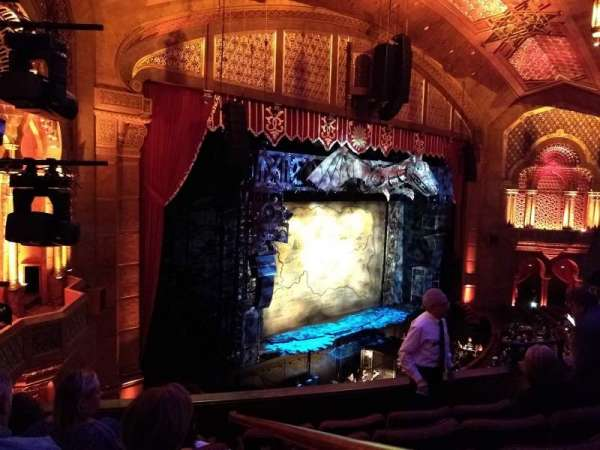 Fox Theatre (Atlanta), section: Loge Left F, row: EE, seat: 41, 43