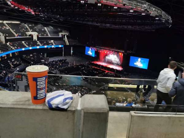 The SSE Hydro, section: 333, row: Y, seat: 285
